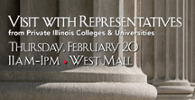 Private Illinois Colleges and Universities  - February 20